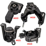 4x Engine Motor And Transmission Mount For Toyota Corolla 1.8l 2003-2008 For Auto