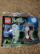 Lego 30201 Monster Fighters Grandfather Clock Glow In The Dark Ghost New Sealed