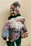 Vintage Whimsical Elf Santa Stuffed Handcrafted Ina Doll 240/1000, Xl 32