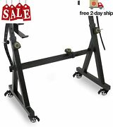 Plixio Piano Keyboard Stand W/wheels - Z Style Adjustable And Portable Heavy Duty