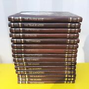 Time-life Books The Old West Series Western Hc X16 Pioneers Texans Cowboys +more