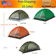Outdoor Camping Tent Waterproof Folding Portable Beach Tent For 1-2 Person F6e3