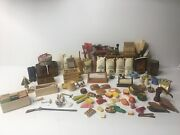 Lot Of 170+ Shackman Dollhouse Miniatures 112 General Store Antiques Country