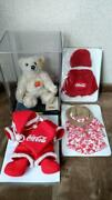 Steiff Teddy Bear Coca Coke Collaboration Limit With Serial Number