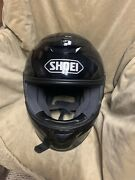 Shoei Motorcycle Helmetandnbsp Color Black Size Small Never Used Perfect Condition