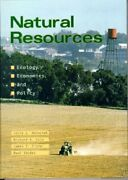 Natural Resources Ecology Economics And Policy