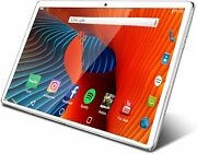 10.1 Inch Tablet Android 9 White 2g Ram 32g Rom Dual Card Wifi Bluetooth Gps Hd