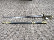 Civil War Us Navy Admirals Sword Made By Horstman And Sons Philadelphia