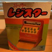 Things At The Time Tin Toy Cash Register Super