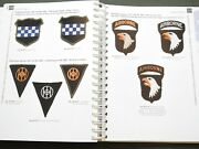 Ww2 Us Made Shoulder Sleeve Insignia Greenback Airborne Patch Reference Book