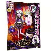 Monster High Twyla 13 Wishes New In Box Pet Dustin 2012 Retired Girl Doll Toys