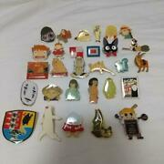 Studio Ghibli Anime Collectible Pin Badge Set Of 30 From Japan Free Shipping