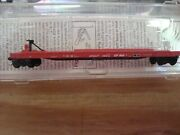 N Scale Mtl Cp Rail 57and0396 Converted Tofc Flat Car New