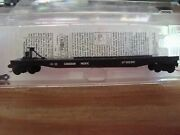 N Scale Mtl Canadian Pacific 57and039 Converted Tofc Flat Car New