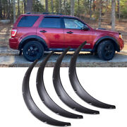 For Ford Escape Fender Flares Flexible Wide Body Kit Wheel Arches 4.5 /115mm Hg