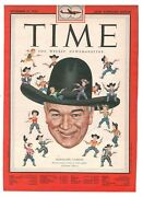 1950 Original Time Hopalong Cassidy William Boyd Only Cover To Frame