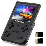Rg351v Handheld Game Console 3.5 Inch Portable Double Tf 64g Card Handheld Retro