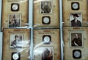 Lot Of 15 1879-1898 Morgan Silver Dollar Book Coins And Stamps L151