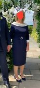 Mother Of The Groom Navy Dress From Invitations By Veni. Worn Once Size 12