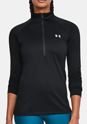 New With Tags Womens Under Armour Ua Tech Long Sleeve 1/2 Zip Top Shirt