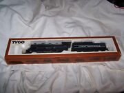 """Tyco Ho-scale """"chattanooga 638"""" Train Locomotive Engine W Tender T5 New"""