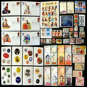 Huge Lot Olympic Fdc Covers And Stamp Set Foreign Currency Button Postcard Etc