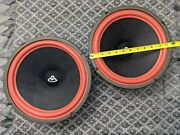 Vintage 1970's Cerwin Vega R-26 Pair Of 12 Woffer If You Need Just One Ask