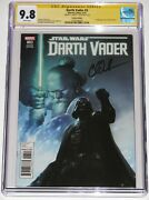 Darth Vader 3 Cgc Ss 9.8. Variant. Signed By Charles Soule. 1st Kirak Infil'a