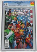 Justice League Of America 1 Cgc 9.8. Brad Meltzer. 1st App Doctor Impossible.