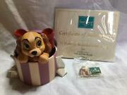 Wdcc Disney Lady And The Tramp Figure With Certificate Of Authenticity F/s