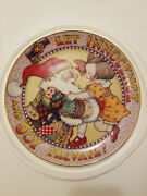 Mary Engelbreit Limited Edition Christmas Plate Let Innocence And Joy Prevail