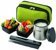 Tiger Thermos Heat Insulation Lunch Box Stainless Steel Lunch Jar Teacup Approx