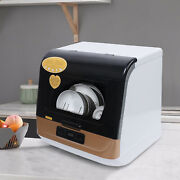 Washing Water Air-cooled Drying 1200w Kitchen Portable Mini Dish Washer 10a Usa