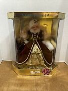 Mattel 15646 Christmas Barbie Happy Holidays 1996 Special Edition New In Box
