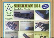 1/35 Kaizen M4 Shaman T51 Connecting Movable Track Sh-t51