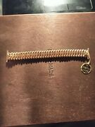Vintage Rare 1940s Speidel The Forty Niner 10k And Stainless Watch Band W/ Tag