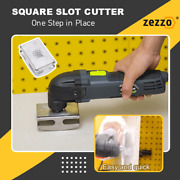 Zezzoandregsquare Slot Cutter Precise Cutting Quickly With Standard Oscillating Tools