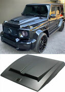 Matte Carbon Hood Cover Trim Brabus Style Made For G Wagon G-class W463a W464