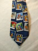 The Simpsons Necktie Christmas Pictures Of Family 2005 Matt Groening Polyester