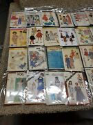 Mixed Lot Of 92 Sewing Patterns Simplicity Easy Mccalls Busybodies Butterick