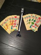 Lot Of 50 Rare Vtg 70and039s 80and039s Coca Cola Promotional Xmas Tags Stickers Sheets