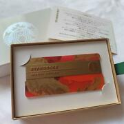 Starbucks Card Holiday Special Edition 2016 From Japan Free Shipping