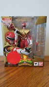 Sh Figuarts Mighty Morphin Power Rangers Armored Red Ranger New Ban Dai👍