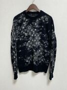 Sold-out Items Vuitton Distressed Monogram Crew Neck Knit