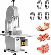 Vevor 1500w Commercial Meat Bone Saw Machine110v Electric Cutting Band Cutter