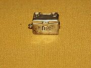 Vintage 3/8 Across Mini Metal Sterling Silver Hope Chest