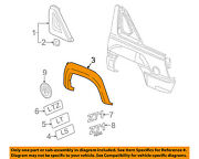 Gm Oem Ext-wheel Well Fender Flare Arch Molding Right 15944822