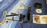 Nintendo Wii Console +sensor Bar And Cords Black Rvl-101usawith Controller/games