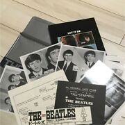 The Beatles Photobook Poster Rare Vintage Used From Japan