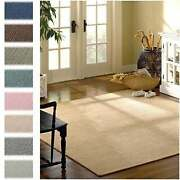 Solid Heathered Braided Reversible Rug Usa Made